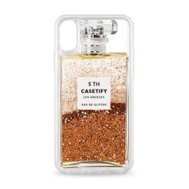 [docomo Select] Casetify iPhone X グリッター/ゴールド