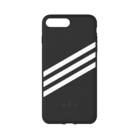[au+1 Collection Select] adidas Originals Moulded Case for iPhone 8 Plus Black/White
