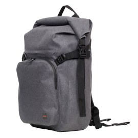 KNOMO Hamilton Backpack 15 Rolltop Gray