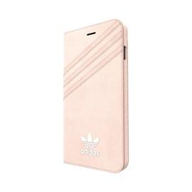 adidas Originals Booklet iPhone 7 Plus Vapour Pink/White