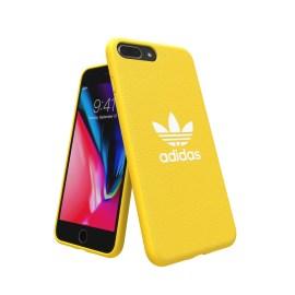 【取扱終了製品】adidas Originals adicolor Moulded Case iPhone 8 Plus Yellow