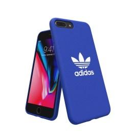 【取扱終了製品】adidas Originals adicolor Moulded Case iPhone 8 Plus Blue