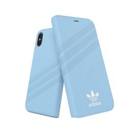 adidas Originals Booklet Case GAZELLE iPhone X Blue