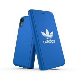 adidas Originals TPU Booklet Case BASIC iPhone XR Bluebird/White
