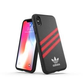 【取扱終了製品】adidas Originals Moulded Case SAMBA iPhone XS Black/Red