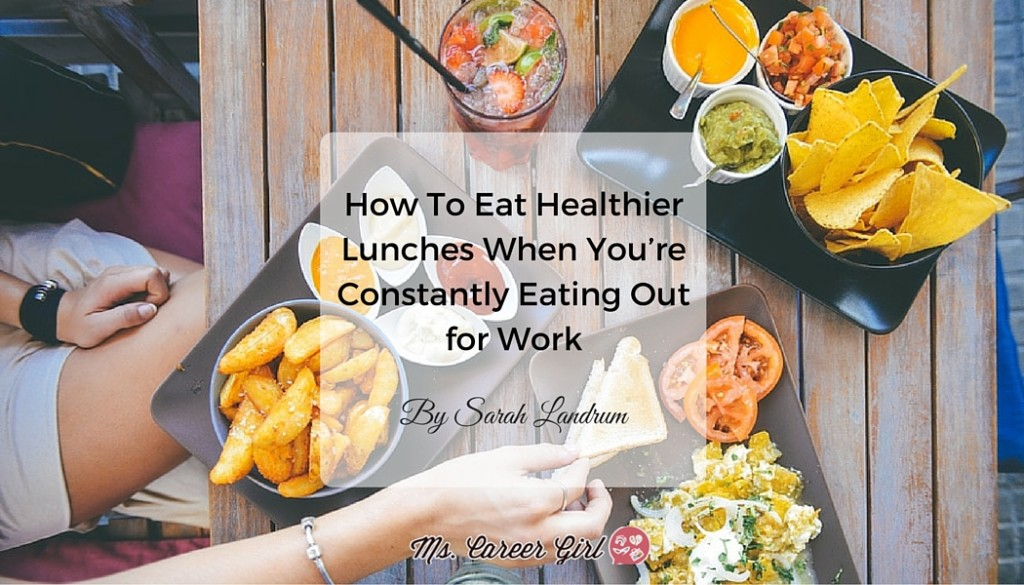 How Eat Out Healthy