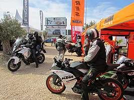 Motosport Carreres en la Newsletter de KTM del mes