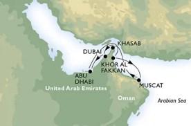 VERENIGDE ARABISCHE EMIRATEN - Verenigde Arabische Emiraten,  Oman