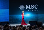 MICHELLE HUNZIKER WILL HOST THE CHRISTENING OF MSC GRANDIOSA