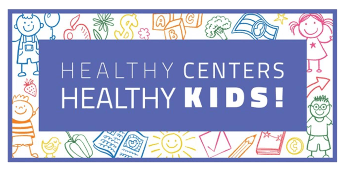 Healthy Centers/Healthy Kids Logo