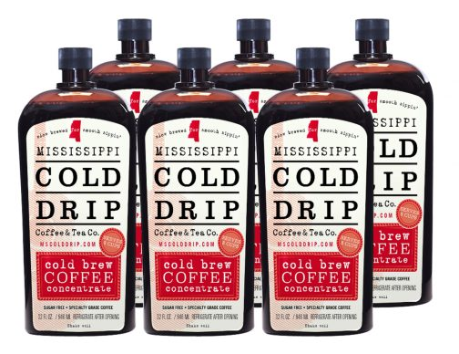 "Six pack ""hero shot"" Coffee Concentrate - Mississippi Cold Drip Coffee and Tea Company"