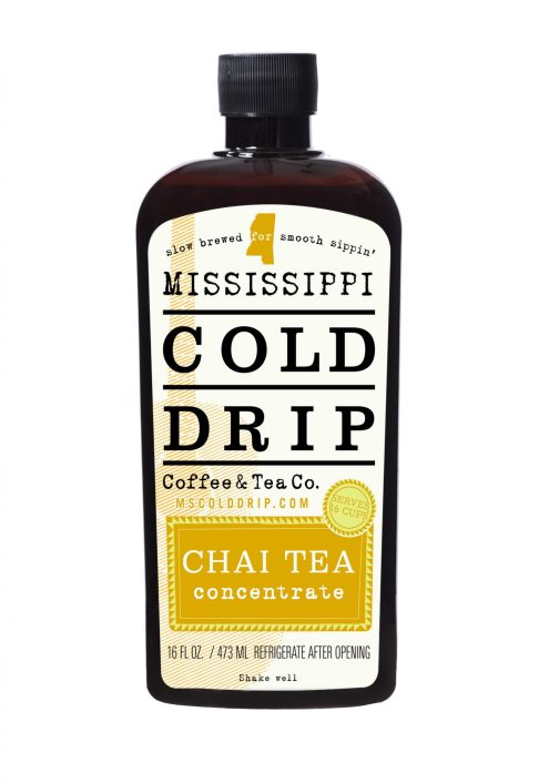 16-ounce Chai Tea Concentrate - Mississippi Cold Drip Coffee and Tea Company