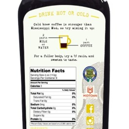 """Cold Drip Coffee Concentrate """"Mill Street Vanilla"""" 32-Ounce"""