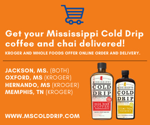 Delivery of Mississippi Cold Drip products