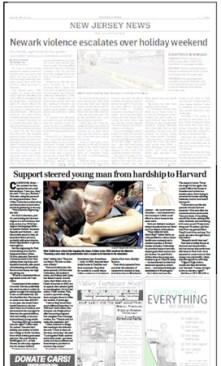 New Jersey Star Ledger - 30 May 2011