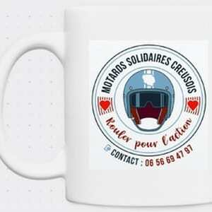 Mugs avec logo en céramique d'une capacité de 350 ml