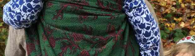 Mokosh Wrap - Thistles Pepper - Review