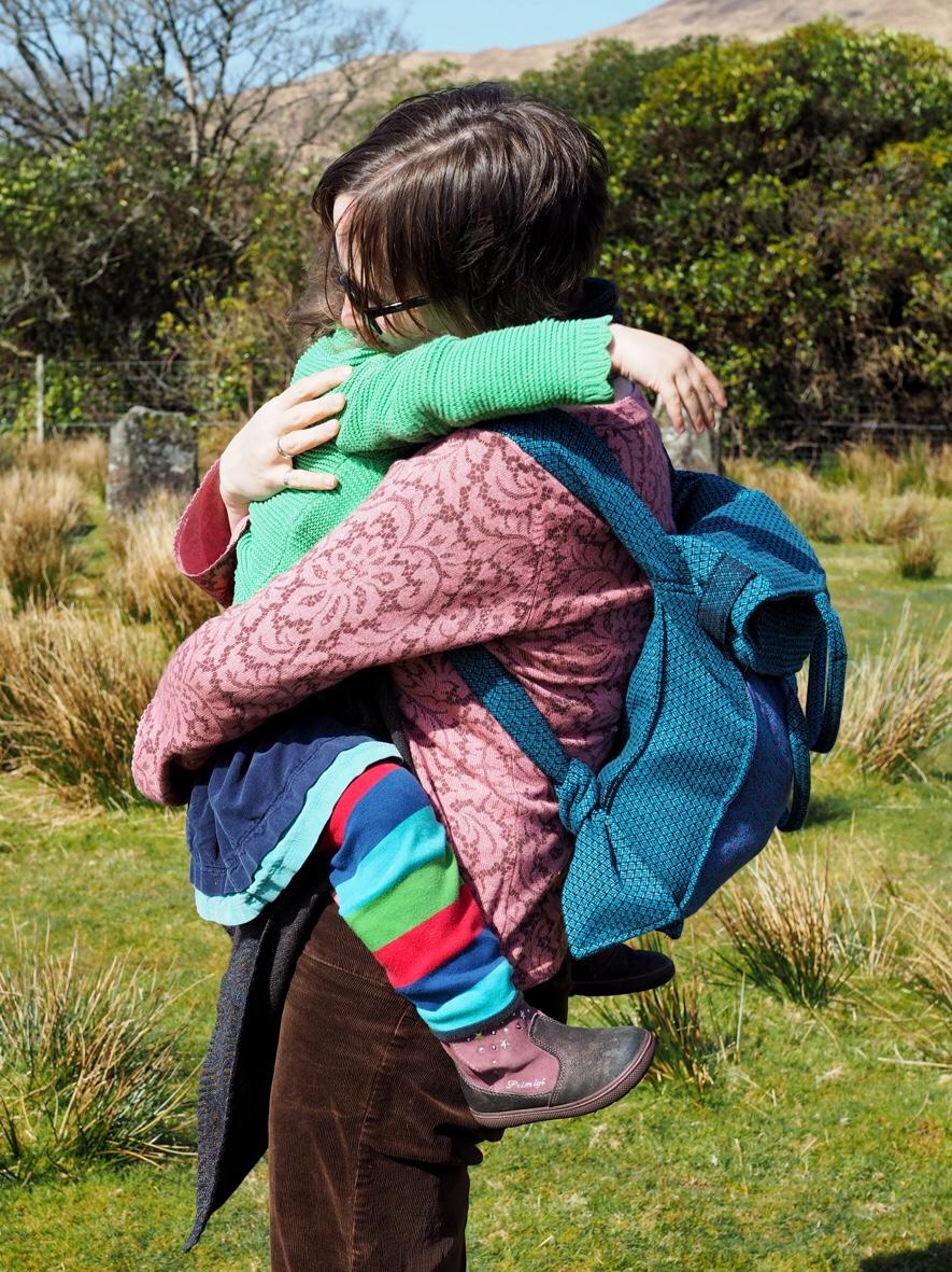 Bardot bag as a backpack
