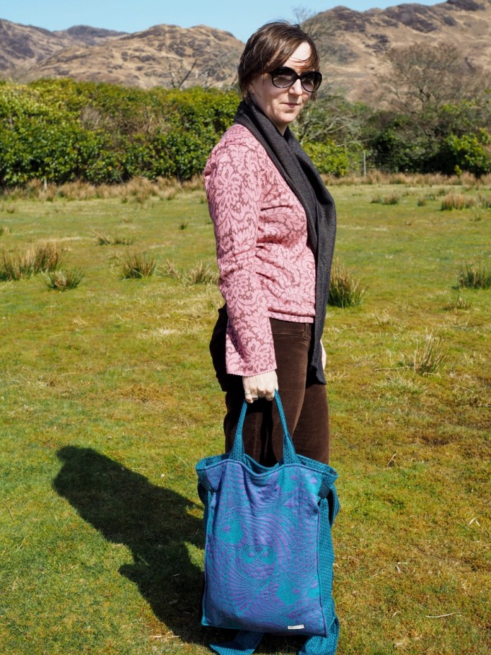 Bardot bag in shopper mode