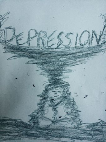 Depression Drawing
