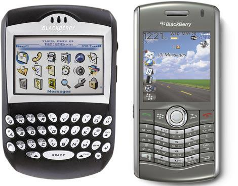 Blackberry'nin kara tablosu