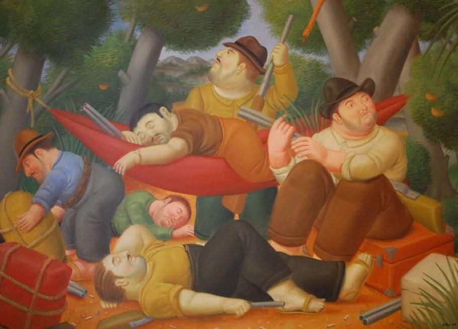 Şişmanlığın mutlulukla bezeli güzelliğini Botero'dan gayrı gören yok mu sahi?