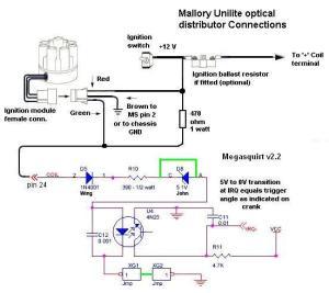 Mallory unilite ignition box wiring diagram  24h schemes