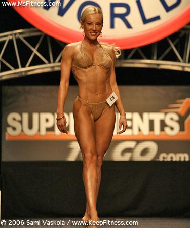 Marija Savic Sreckovic 2007 Ms Fitness Competitor