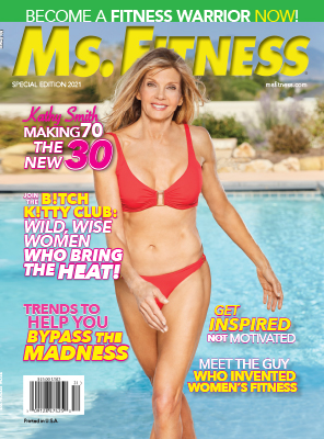 Cover of Ms. Fitness Magazine