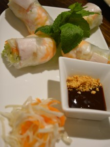 Fresh Prawn Summer Rolls