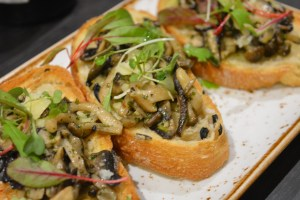 The mushrooms on toast that we shared - my favourite of the starters