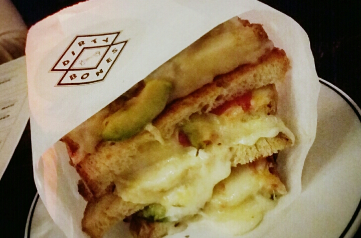 Green Cheese Toastie