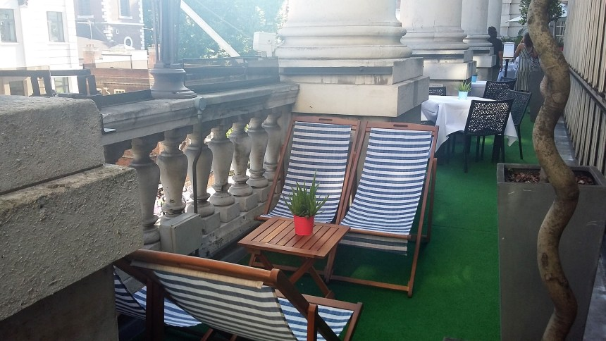 Terrace Restaurant Le Meridien Piccadilly