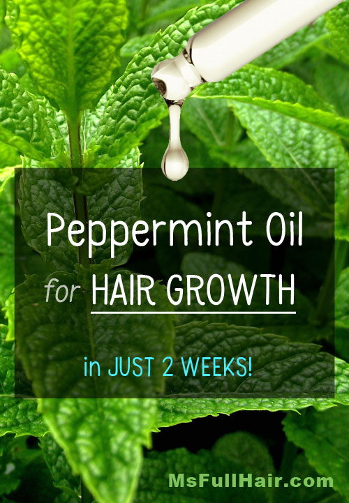 How To Use Peppermint Oil For Hair Growth Visible