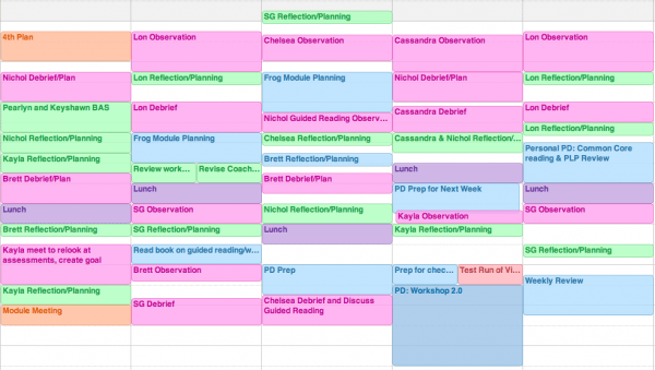 How To Create A Coaching Schedule And Handle Your Busy Ness Ms Houser
