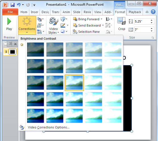 how to make a video presentation in powerpoint 2010