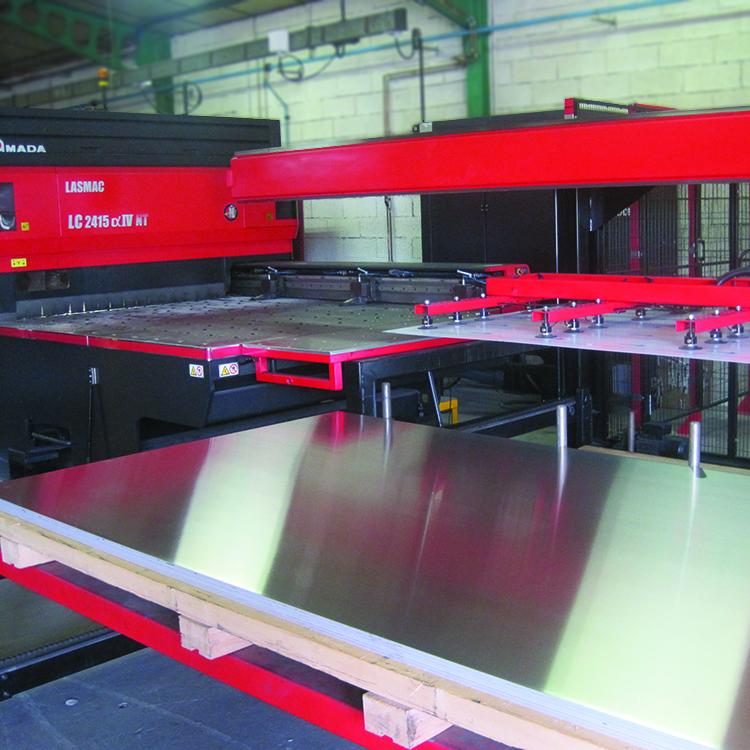 msj industrie tolerie industrielle decoupage machine decoupe laser