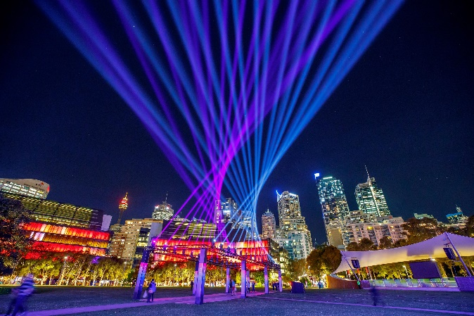 Vivid Sydney: A 'global' fest for lights, art and music