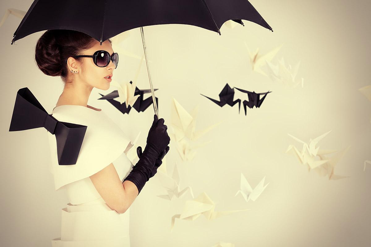Origami Fashion Show
