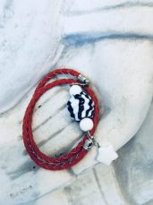 mskyh 2 in 1 Shell Bracelet & Necklace