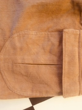 MSKYH ZEGATO Mens BOARDSHORTS Walnut Brown Cord