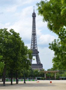 The Eiffel Tower is in the Seventh Arrondissement, Paris, France