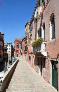 A Sunny Day in Venice, Italy