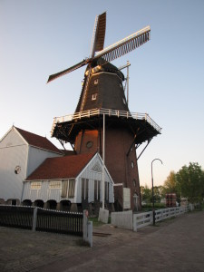 Windmill in the Town of Birdaard where my Great-grandfather Lived