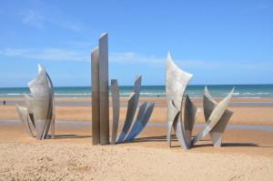 Memorial on Omaha Beach, Normandy, France