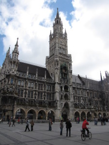 Rathaus (City Hall), Munich, Germany