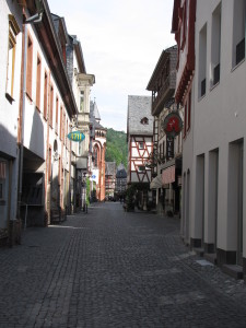 Early Morning in Bacharach, Germany