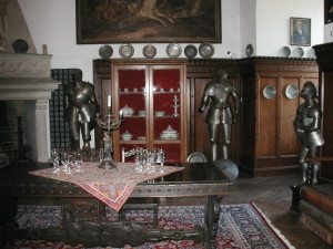 Collection of Armor, Furniture and Plates, Reichenstein Castle