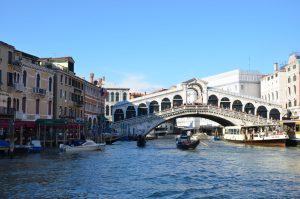 The Rialto Bridge in Late Afternoon