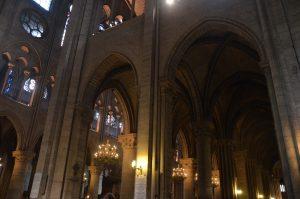 Notre Dame Interior, Paris